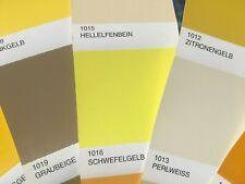 Peinture carrosserie: Jaune Soufre RAL 1016 brillant direct + durcisseur diluant