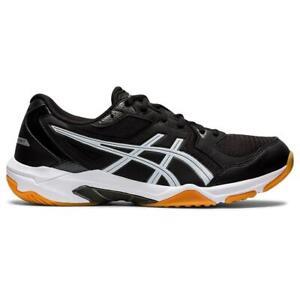 Asics Gel Rocket 10 Men's Indoor Court Shoe (Black/Gunmetal) - Authorized Dealer