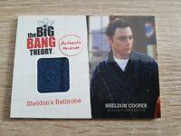 2012 Cryptozoic The Big Bang Theory Season 1 Sheldon Cooper M1 Wardrobe