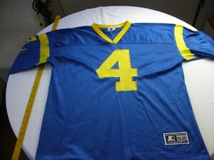 Steve Walsh Starter Rams football jersey Sz. 52 XL Vintage