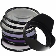 Kit Filtre Circulaire CPL 58mm UV Ultra Violet 58 mm SKY Star Macro Fluorescent
