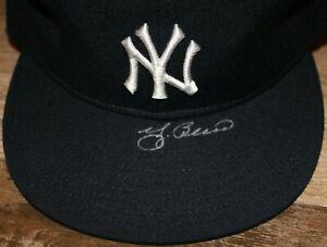 Yogi Berra Yankees Signed New Era Diamond Collection Fitted Cap - 6-3/4 JSA COA