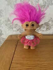 """'Party girl'  Girl 90s Vintage 4"""" (excluding Hair) Retro Russ Troll"""