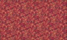 Cuarto gordo Autumn (otoño) Hojas De Algodón Acolchado fabric-makower 1354r