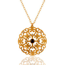 Many Variation Handmade Gemstone Designer Pendant Necklace Gold Plated Jewelry