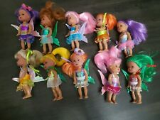 """Lot of 10 Gem Girls Little 4"""" Fairy Dolls by Harbour Trade Children's Play Toys"""