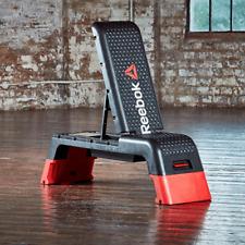 Reebok Studio Deck Workout Bench and 3 gym band set