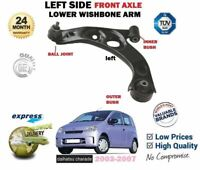 FOR DAIHATSU CHARADE 1.0 L251 2003-2007 NEW LEFT FRONT AXLE LOWER WISHBONE ARM