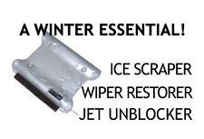 Winter Car Windscreen Ice Scraper/Wiper Blade Restorer - Handy Pocket Size