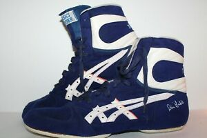 RARE ASICS split sole Dan Gable UltraFlex Wrestling Shoes,#JY-11, Men's 11.5