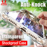 For Google Pixel 2 3 XL Shockproof Clear Xrystal Silm Silicone Soft Case Cover
