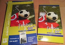 VHS Febbre a 90 ° Fever Pitch ARSENAL Football Calcio Soccer Nick Hornby Gunners