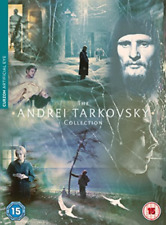 Andrei Tarkovsky Collection The DVD NEW