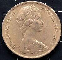 1973 AUSTRALIAN 5 CENT COIN