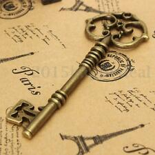 1x Antique Vintage Style Key Metal Pendant Bronze Jewelry Decoration DIY Hotsale