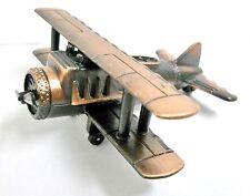 Bi-Plane Die Cast Metal Collectible Pencil Sharpener
