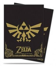 Ultra Pro 65 pouches The Legend of Zelda Black and Gold Deck Protector 852054