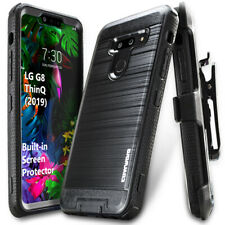 For LG G8 ThinQ (2019) Armor Holster Case Belt Clip Brush Metal Cover COVRWARE