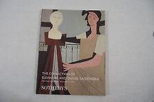 Catalogue SOTHEBY'S NEW YORK 10.11.1999 Collection of E & Daniel SAIDENBERG