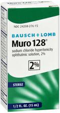 MURO-128 2% CORNEAL EDEMA DROP 15ML   sodium chloride OPHTHALMIC DROPS 2 %