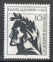 Germany 1971 MNH Mi 693 Sc 1073 Dante Alighieri, Italian poet ** Divine Comedy