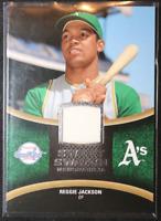 """2008 Upper Deck """"Sweet Spot"""" Reggie Jackson Oakland A's Jersey"""