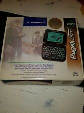 VINTAGE Motorola Timeport pagewriter & charger Lot!!