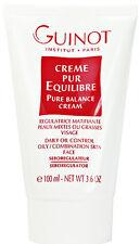 Guinot Pure Balance Cream Creme Oily Skin 100ml(3.4oz) Professional  Brand New