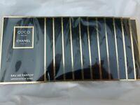 Chanel Coco Noir Eau de Parfum sealed pack of 12 samples x 1.5 ml NEW