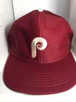 Philadelphia Phillies New Era Red Game Team Classic Baseball Hat Cap