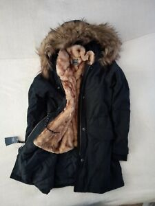 Womens Abercrombie & Fitch Water Resistant 3-in-1 Ultra Parka Coat Jacket Size L
