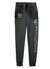 Disney Parks Mickey and Minnie Mouse Kiss Lounge Pants M The Most Magical Place