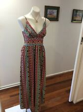 BNWT Womens Yumi Maxi Summer Dress UK 12