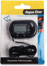 Aqua One LCD Electronic Thermometer Outside Tank 10299