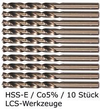 10 x HSS-E Spiralbohrer 2,5 mm Cobalt Kobalt CO5% HSS-CO HSSE VA V2A V4