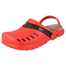 Scarpe da uomo rossi Crocs sintetico