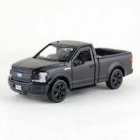 1:36 Ford F-150 Pick-up Die Cast Modellauto Spielzeug Model Sammlung Mattschwarz
