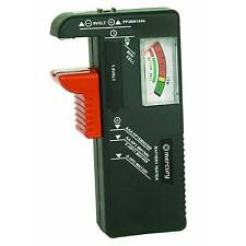 Mercury Universal Battery Tester/Checker AA, AAA, 9V - Free Fast Delivery