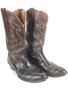 nocona boots 11 Fresh Water Crocodile