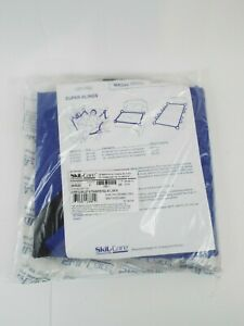 """Super Sling Lift Transfer Pad 40"""" x 36"""" Blue 250 lbs Max. 4 Handle For 2 People"""