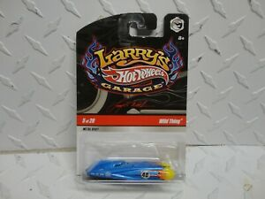Hot Wheels Larry's Garage #5 Blue Wild Thing CHASE  w/Real Riders
