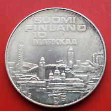 Finnland-Suomi: 10 Markkaa 1971 Silber, KM# 52, ST-BU, #F1037