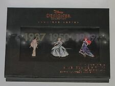 Disney Princess Designer Collection Limited Edition Pin Set, Set One