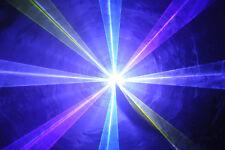 RGB láser sistema 3000 MW ilda