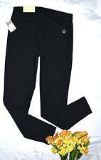 NEW $98.00 MICHAEL KORS WOMENS SIZE 8 IZZY SKINNY LEG BLACK JEANS PANTS