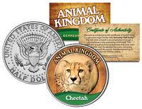 CHEETAH * Animal Kingdom Series * JFK Kennedy Half Dollar U.S. Coin