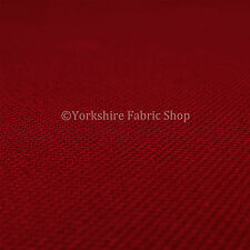 Soft Cosy Chenille Texture Velvet Upholstery Fabric New Red - Sold By The Metre