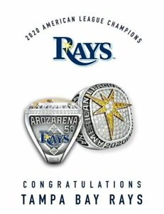 2020 Tampa Bay Rays American League Championship Ring Newest
