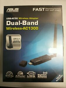 ASUS USB-AC56 Dual Band Wi-Fi Adapter Asus USB-AC56 IEEE 802.11ac - Wi-Fi