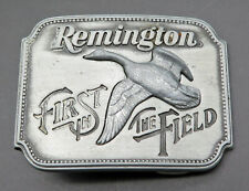 Remington Arms Canada Goose Sid Bell Vintage Belt Buckle